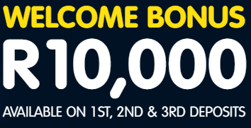Welcome Bonus R10,000