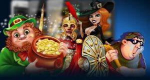 characters from Punt casino slots