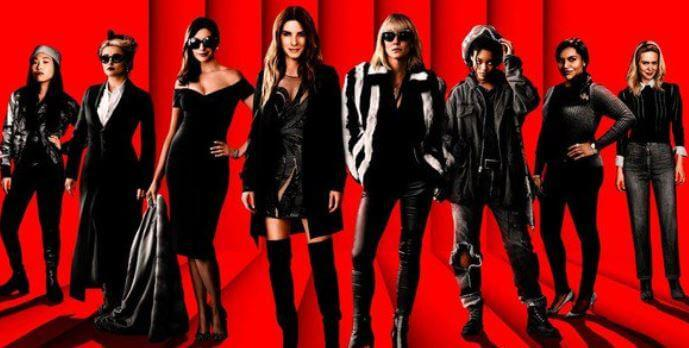 ocean's eight movie poster