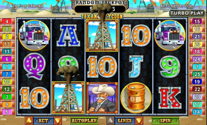 Play Texan Tycoon for real or for fun at Punt Casino
