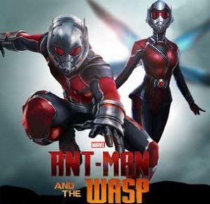 Antman and wasp movie poster
