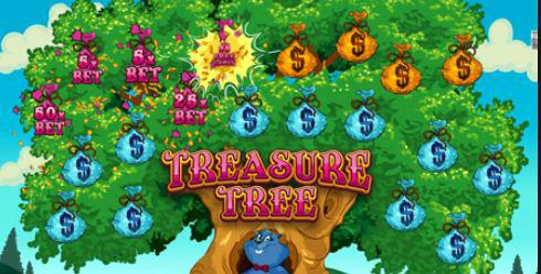 treasure tree online slot