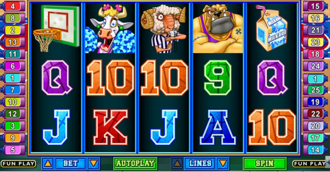 Play Basketbull at Punt casino