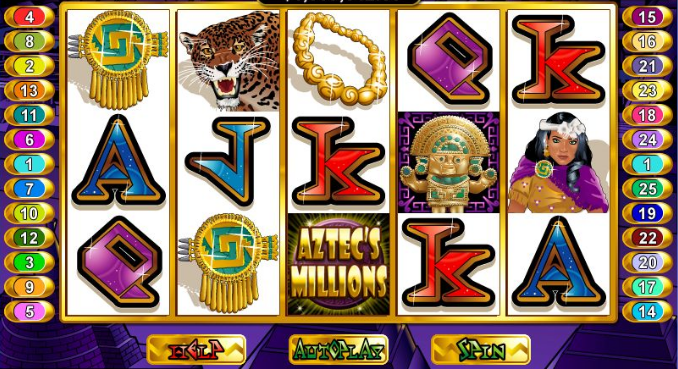 Aztecs Millions at Punt Casino