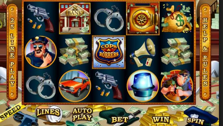 Cash Bandits at Punt Casino