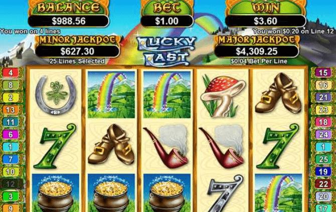 Lucky last online slot screenshot