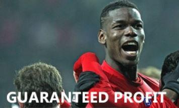 Pic of Manchester United player Paul Pogba