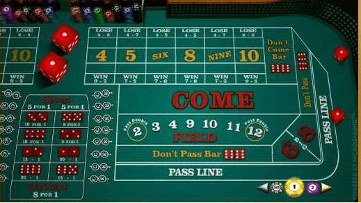 Play Online Craps at Punt Casino
