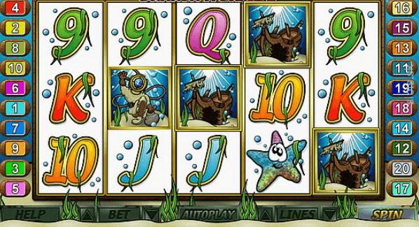 Treasure Diver Slot Game Review