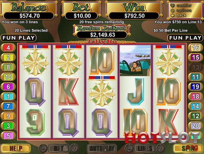 Tally Ho Slot Review
