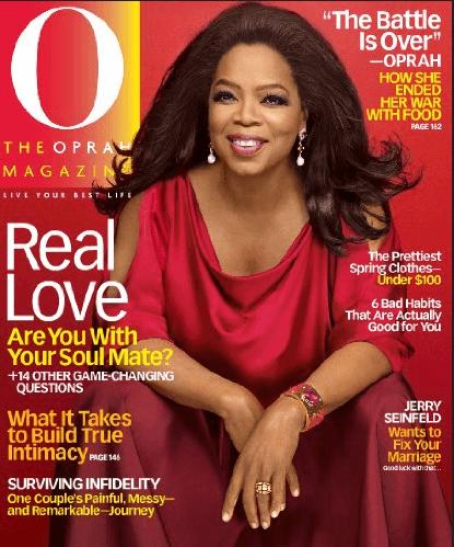 Oprah's Magazine Goes Digital