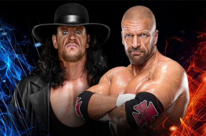 Triple vs The Undertaker WWE Super Showdown