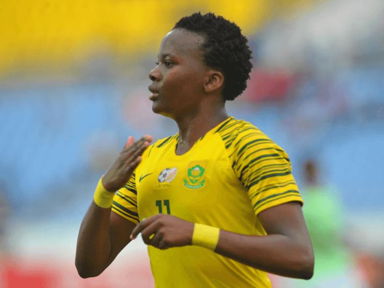 goal scorer when South Africa Ladies Beat Nigeria,