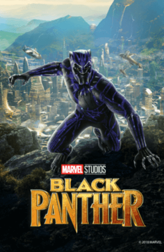 Picture of black panther poster
