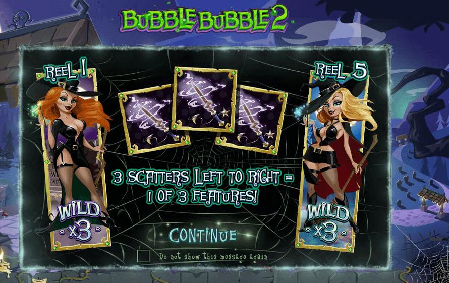 Picture of multipliers on Bubble bubble slot
