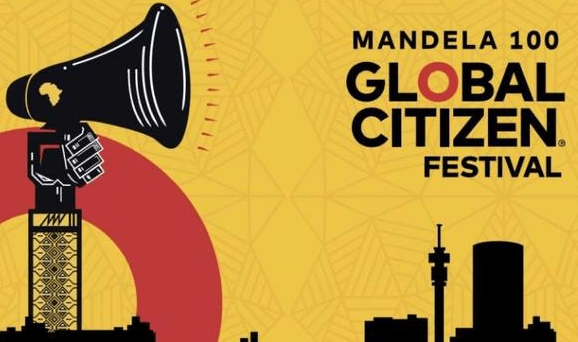 Poster for the Global Citizen Festival 2018