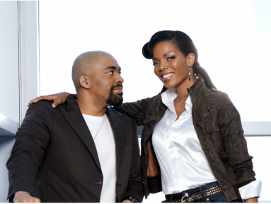 a picture showeing the love of Connie of Shona Ferguson