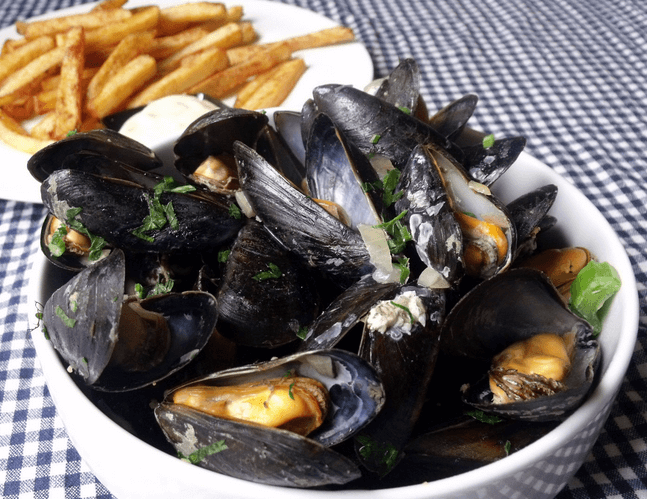 Moules Frites are one the must-eat foods in the world