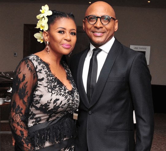 a picture showing the love of Basetsang and Romeo Kumalo