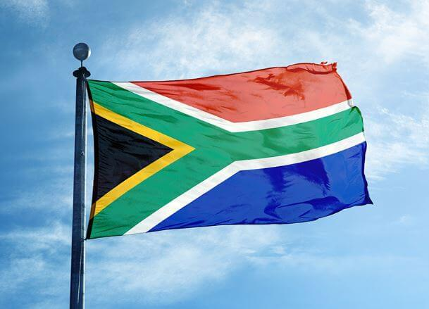the South African Flag: Only in South Africa