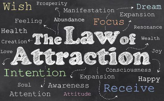 The Law of Attraction attributes