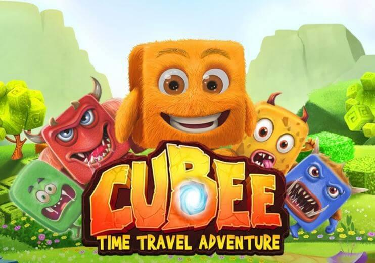 Cover art for Cubee:Time Travel Adventure, RTG's latest game