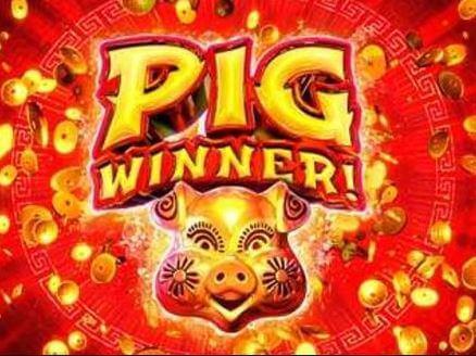 Logo of the games of good fortune, Pig winner