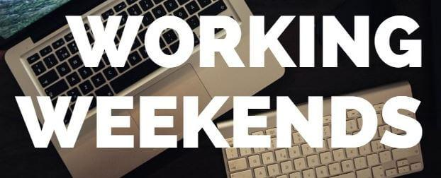 why you should not work on weekends