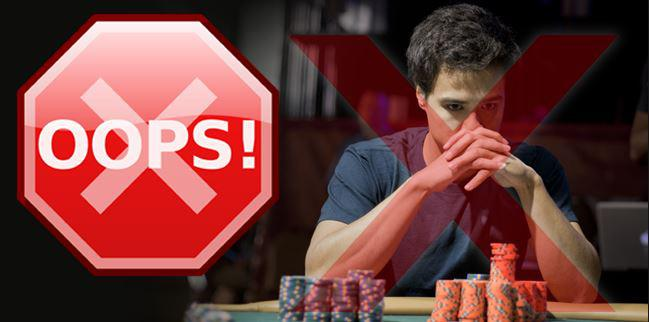 Gambling Mistakes to avoid