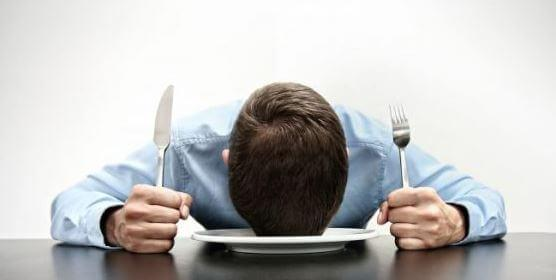 link between hunger and office productivity