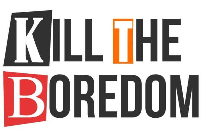 Kill the boredom in the office