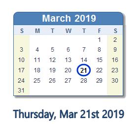 Get Ready for the Month of March