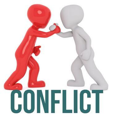 Conflict is a good thing