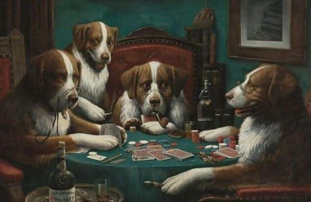 Dogs can Teach Gamblers